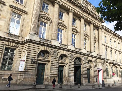 L'Hôtel des Monnaies : la façade sur le quai de Conti