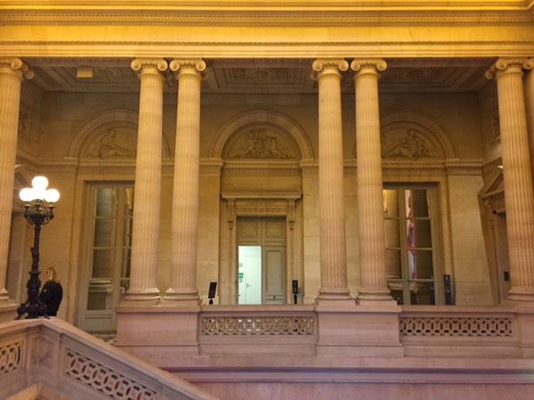 L'Hôtel des Monnaies  : la galerie au 1er étage