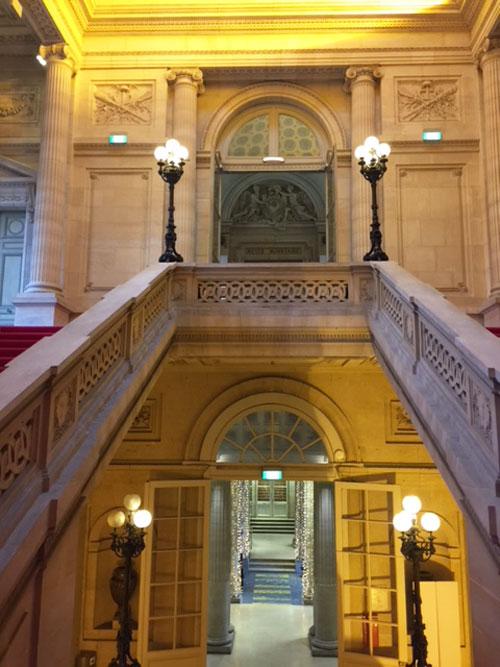 L'Hôtel des Monnaies  : l'escalier d'honneur