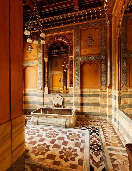 L'hôtel de la Païva - La salle de bain