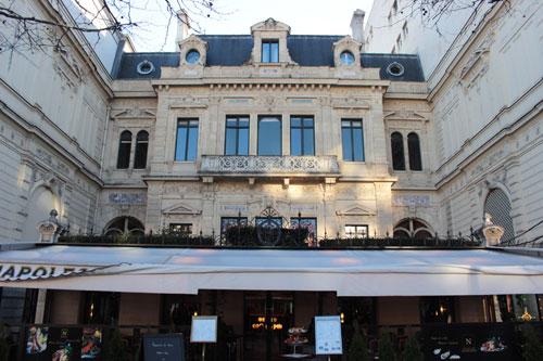 L'hôtel de la Païva - La façade sur le jardin suspendu