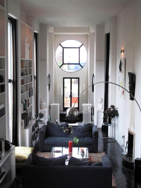 le salon de l'appartement de Pierre Patout