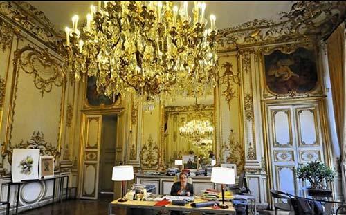 L'hôtel de Roquelaure - Bureau du ministre