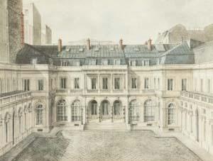 Hôtel James de Rothschild au XIXe siècle