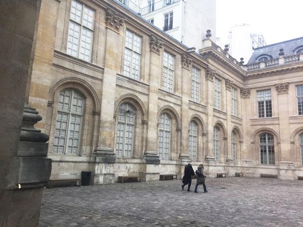 L'Hôtel de Saint-Aignan : le mur renard