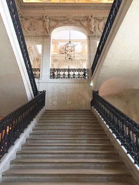 L'hôtel Salé - L' escalier d'honneur