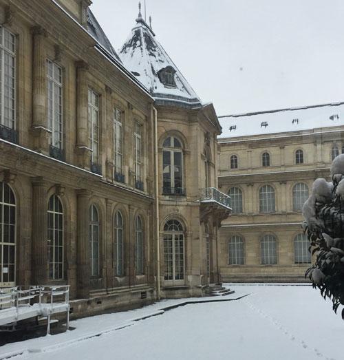 L'hôtel de Soubise ; le pavillon ajouté par Germain Bofffrand