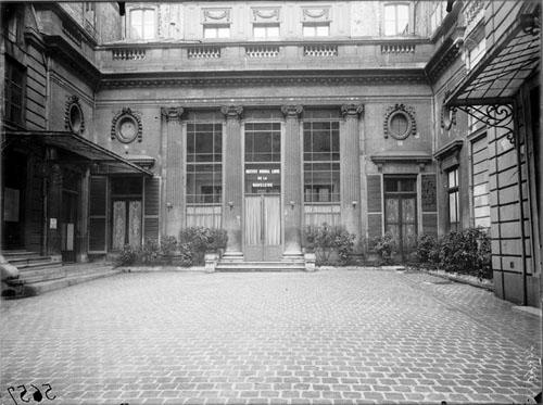 L'hôtel Suchet avant restauration