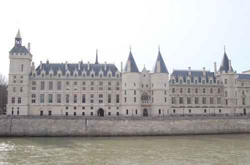 Le palais de la Conciergerie