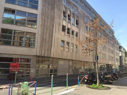 Façade des logements, rue Charles Delescluze