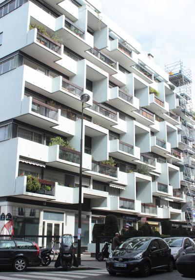Immeuble de logements, rue Saint-Ambroise