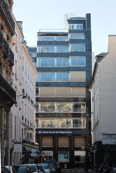 Immeuble de bureaux, rue de Caumartin