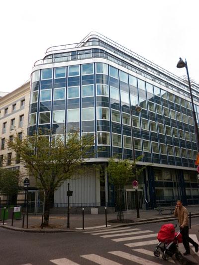 Immeuble de bureaux, rue de la Victoire