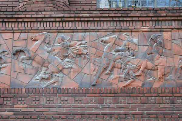 L'Institut d'Art et d'Archéologie : la frise