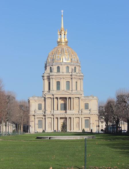 L'hôtel des Invalides - L'église Saint-Louis