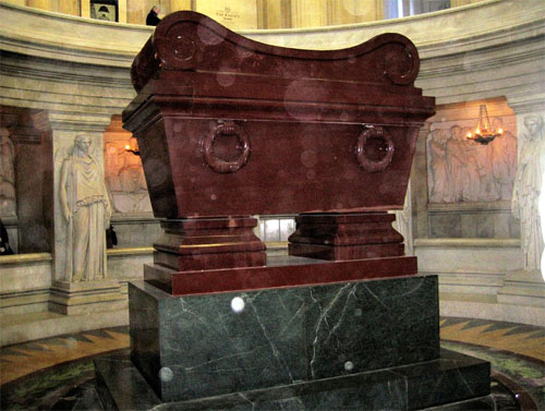 L'hôtel des Invalides - Le tombeau de Napoléon 1er