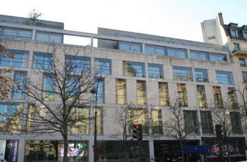 Immeuble de bureaux, boulevard des Italiens
