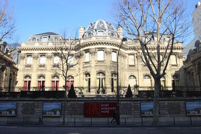 Musée Jacquemart-André - Façade sur le boulevard