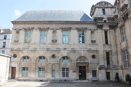 L'Hôtel d'Angoulême : l'aile ajoutée au XVIIe siècle