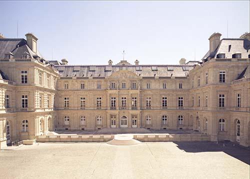 Le Palais du Luxembourg - Façade sur cour