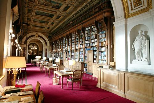 Le palais du Luxembourg - La bibliothèque