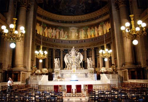 L'église de la madeleine - Le chœur