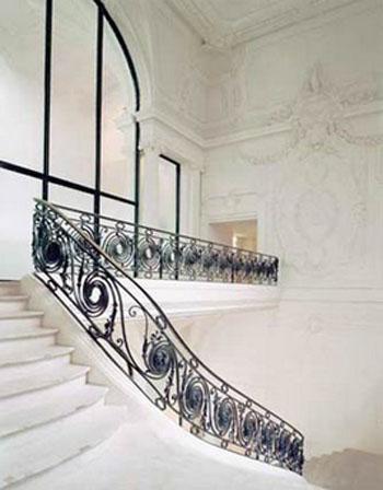 Le palais du prolétariat : le grand escalier