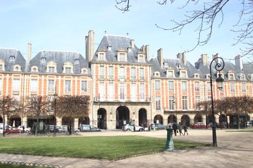 La place Royale - Place des Vosges