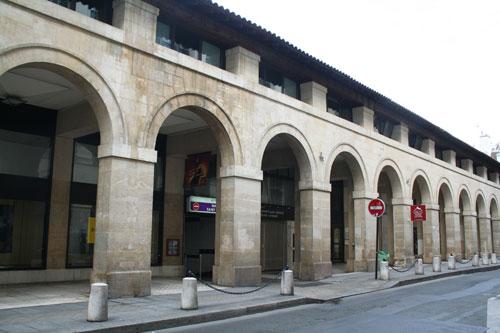 L'actuel marché Saint-Germain