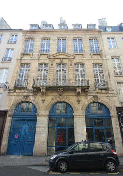 La Maison Européenne de la Photographie - Façade sur la rue François Miron