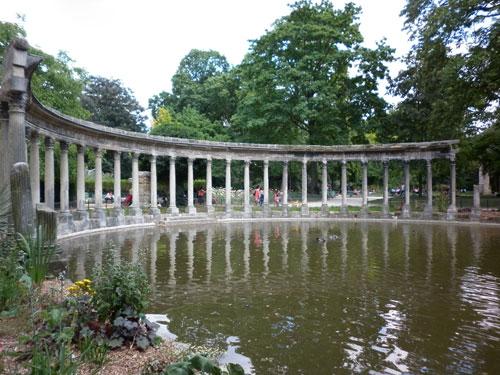 Le parc Monceau