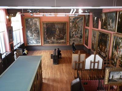 Musée Gustave Moreau : l'atelier