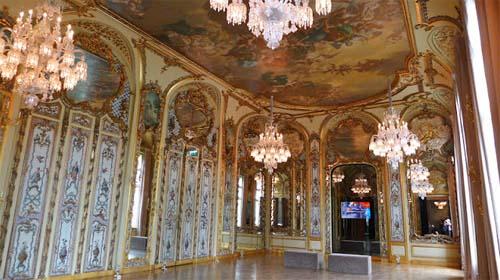 L'hôtel Bischoffsheim - La salle de bal italienne