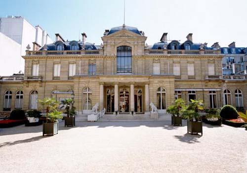 Le Musée Jacquemart-André - façade sur le jardin