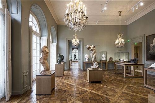 Le musée Rodin : salle d'exposition
