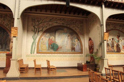 L'église Notre-Dame du Travail - Une des chapelles