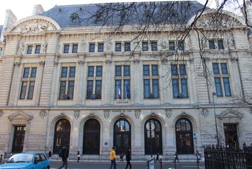 La nouvelle Sorbonne - Entrée rue des Ecoles