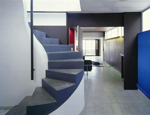 Immeuble Molitor - l'escalier