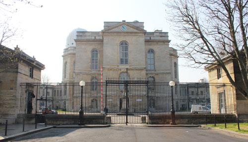 L'Observatoire de Paris - Façade nord