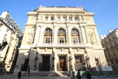 L' Opéra-Comique - La Salle Favart (salle actuelle)