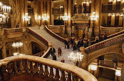 L'opéra Garnier- Le grand escalier