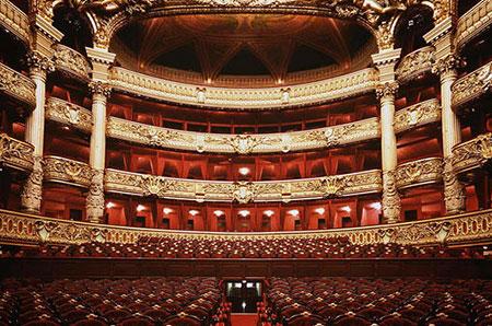 L'opéra Garnier : la salle