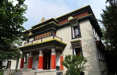 Le temple thibétain
