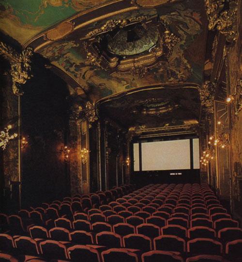 La Pagode - Le décor de la grande salle