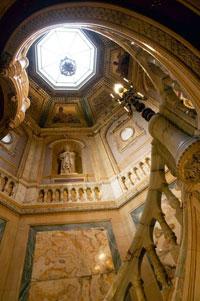 L'hôtel de la Païva - L'escalier
