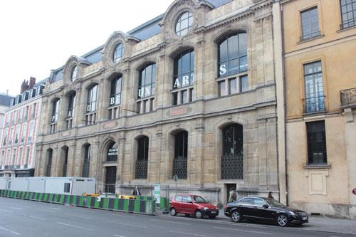 L'école nationale supérieure des Beaux-Arts - Les salles d'exposition