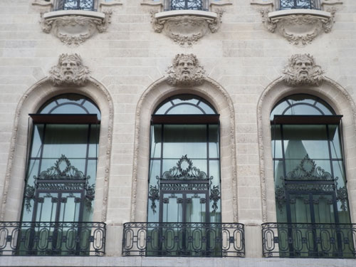 Le Palais du Prolétariat - Baies du 1er étage