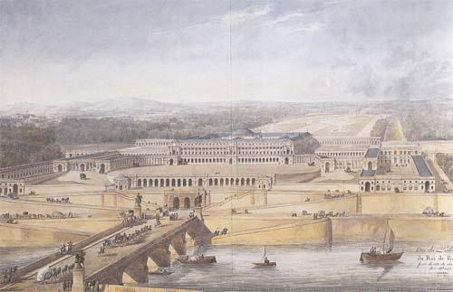 Le palais du Roi de Rome - Projet de Charles Percier et Pierre Fontaine