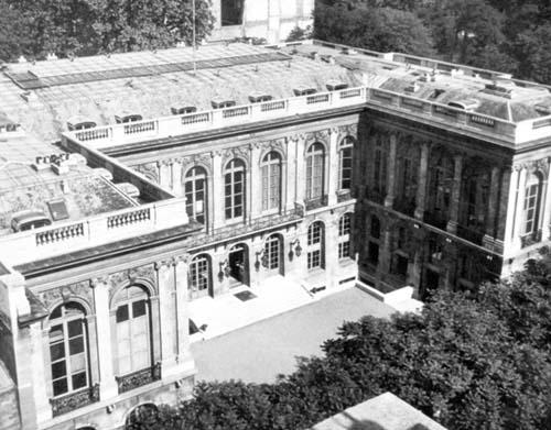 Le Palais Rose au début du XXe siècle