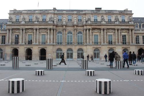 Le Palais-Royal - Façade sur la deuxième cour